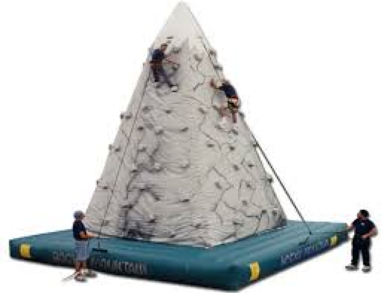 Inflatable 28' Rock Mountain