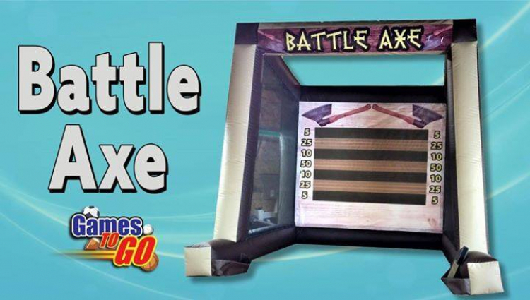 Inflatable Axe Throw Dual Lane or Single Lane