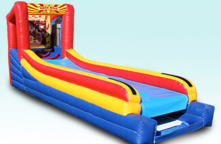 Inflatable Skee Ball  (3 Lane)