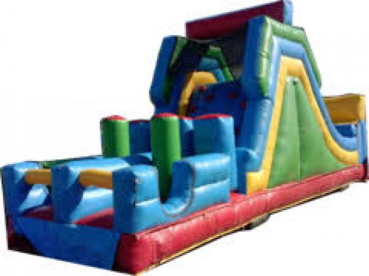 40' Adrenaline Rush Climb & Slide