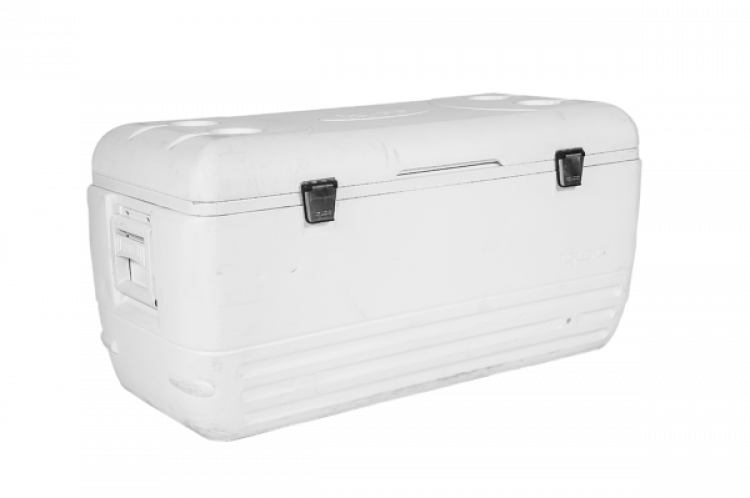 White Large Ice Chest Cooler